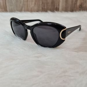 Salvatore Ferragamo SF818S Black Cat Sunglasses